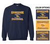 FOOTBALL BASIC CREW NECK SWEATSHIRT - ADULT & YOUTH