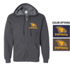 FOOTBALL BASIC FULL ZIP HOOD - ADULT & YOUTH