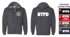 BASIC FULL ZIP HOODED SWEATSHIRT - ADULT & YOUTH