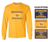 FOOTBALL BASIC LONG SLEEVE TEE - ADULT & YOUTH
