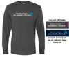BASIC LONG SLEEVE TEE W / FULL FRONT PRINT - ADULT & YOUTH
