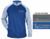 BLEND 1/4 ZIP PULLOVER FLEECE - ADULT ONLY
