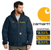 CARHARTT QUILT LINED HOODED DUCK JACKET