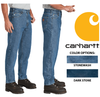 CARHARTT RELAXED-FIT TAPERED-LEG JEANS