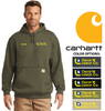 CARHARTT WORKWEAR MID-WEIGHT HOODED SWEATSHIRT
