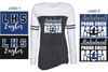 CHEER MOM GAME DAY LONG SLEEVE T-SHIRT