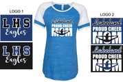 CHEER MOM GAME DAY T-SHIRT