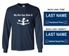 FAN LONG SLEEVE T-SHIRT MENS & YOUTH