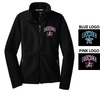 FLEECE JACKET - EMB LOGO - WOMEN'S