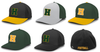 FLEX FIT PERFORMATED HAT - EMBROIDERED LOGOS