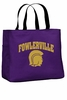 FOWLERVILLE TOTE BAG WITH LOGO