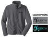 FULL ZIP FLEECE JACKET - MEN'S & YOUTH