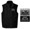 FULL ZIP FLEECE VEST - MEN'S & YOUTH