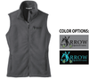 FULL ZIP FLEECE VEST - WOMEN'S