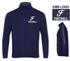 FULL ZIP OUTER CORE WARM UP JACKET - EMB LOGO