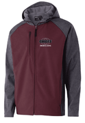 FULL ZIP SOFT SHELL JACKET WITH HOOD - ADULT