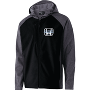FULL ZIP SOFT SHELL JACKET WITH HOOD - MENS