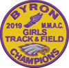 GIRLS TRACK 2019 MMAC CHAMPIONS PATCH