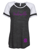 WOMEN'S GAME DAY TEE W / FOIL PRINT
