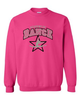 HOT PINK CREW NECK SWEATSHIRT - ADULT