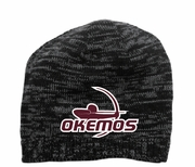 KNIT BEANIE - EMBROIDERED LOGO