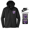 NIKE FULL ZIP THERMA FIT FLEECE HOOD