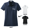 LADIES NIKE SPHERE DIAMOND DRY GOLF SHIRT