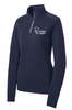 LADIES SPORT-WICK TEXTURED 1/4 ZIP PULLOVER