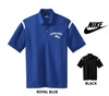 LAKELAND NIKE STRIPE DRI-FIT POLO