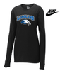 LAKELAND NIKE WOMEN'S CORE COTTON LONG SLEEVE TEE