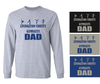 LCG DAD LONG SLEEVE TEE - REGULAR PRINT