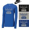 LCG DAD NIKE CORE COTTON LONG SLEEVE TEE - REGULAR PRINT