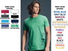 MEN'S FEATHERWEIGHT T-SHIRT - ALIVE LOGO