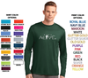 MEN'S PERFORMANCE DRI-FIT LONG SLEEVE T-SHIRT - MOVE LOGO