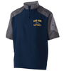 MEN'S SHORT SLEEVE 1/4 ZIP JACKET