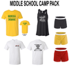MIDDLE SCHOOL CAMP PACK