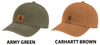 CARHARTT ODESSA CANVAS HAT - IN-STOCK