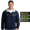 LIGHT WEIGHT JACKET WITH HOOD