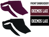 PERFORMANCE VISOR - EMB LOGO