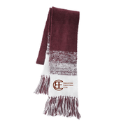 KNIT SCARF - EMBROIDERED LOGO