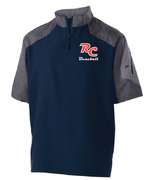 SHORT SLEEVE 1/4 ZIP PULLOVER JACKET - YOUTH & ADULT
