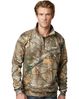 REAL TREE CAMO 1/4 ZIP PULLOVER