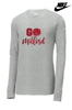 "NIKE CORE COTTON ""GO MILFORD"" LONG SLEEVE TEE"