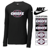 NIKE CORE COTTON LONG SLEEVE TEE - ADULT