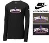 NIKE CORE COTTON LONG SLEEVE TEE - ADULT ONLY