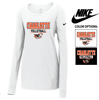 NIKE CORE COTTON LONG SLEEVE TEE - WOMEN'S