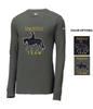 NIKE COTTON CORE LONG SLEEVE T-SHIRT - GLITTER PRINT