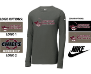 NIKE COTTON CORE LONG SLEEVE TEE - ADULT ONLY