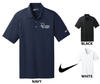 NIKE DRI-FIT VERTICAL MESH GOLF SHIRT