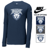 NIKE POLY/COTTON DRI-FIT LONG SLEEVE TEE - ADULT
